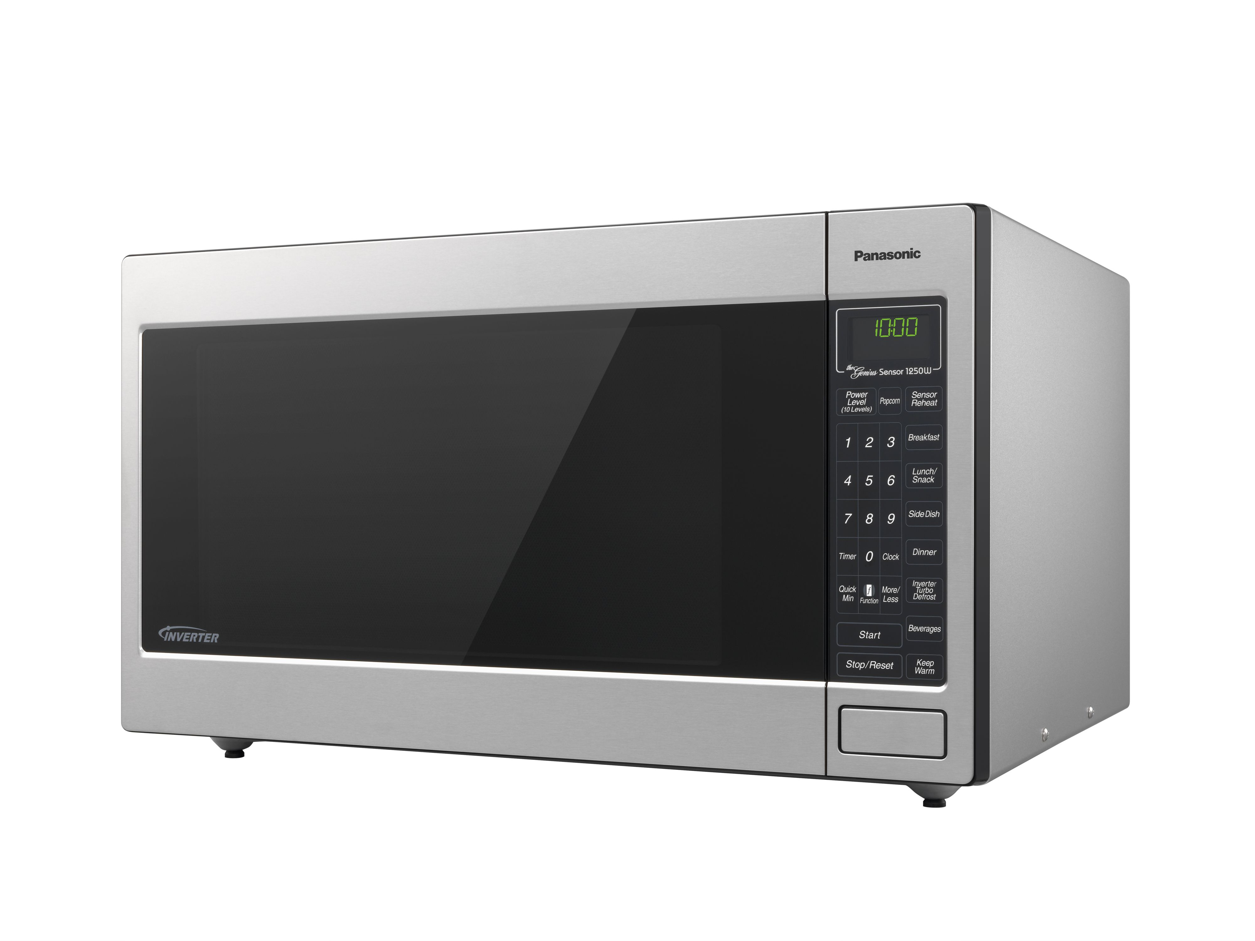 Panasonic 2 Cu Ft 1250 Watt Microwave Oven Stainless Steel