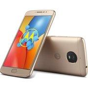 Motorola Moto E Plus 16GB Unlocked Smartphone, Fine Gold