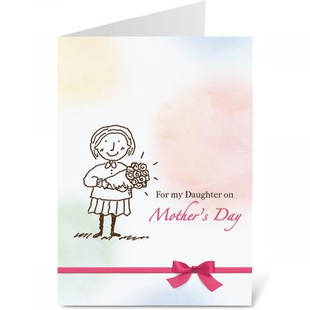 To My Daughter Mother s Day Card - Large 5