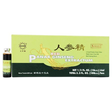 Superior Trading Company - Rouge Panax Ginseng Extrait - 10 Vial (s)