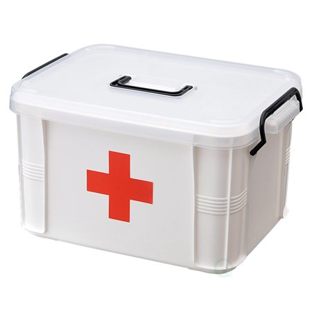 First Aid Textbook - Small First Aid Medical Kit