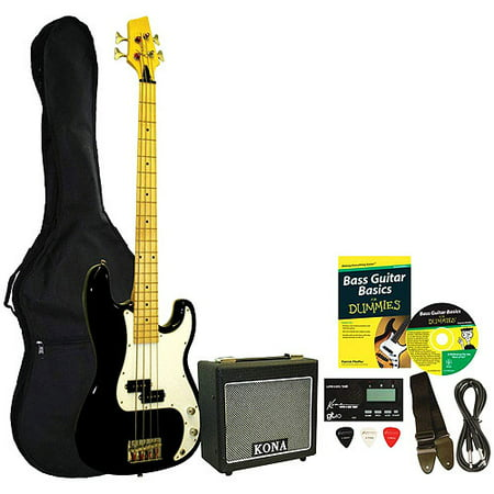 Kona Bass Guitar Starter Pack For (Guitar Hero 4 Bass)