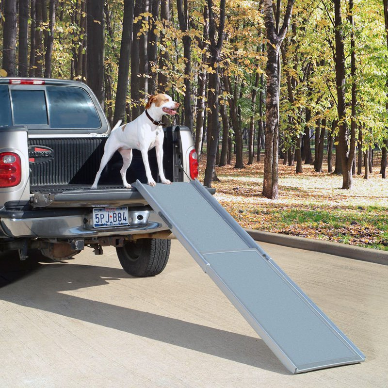Solvit Deluxe XL Telescoping 87'' Pet Ramp