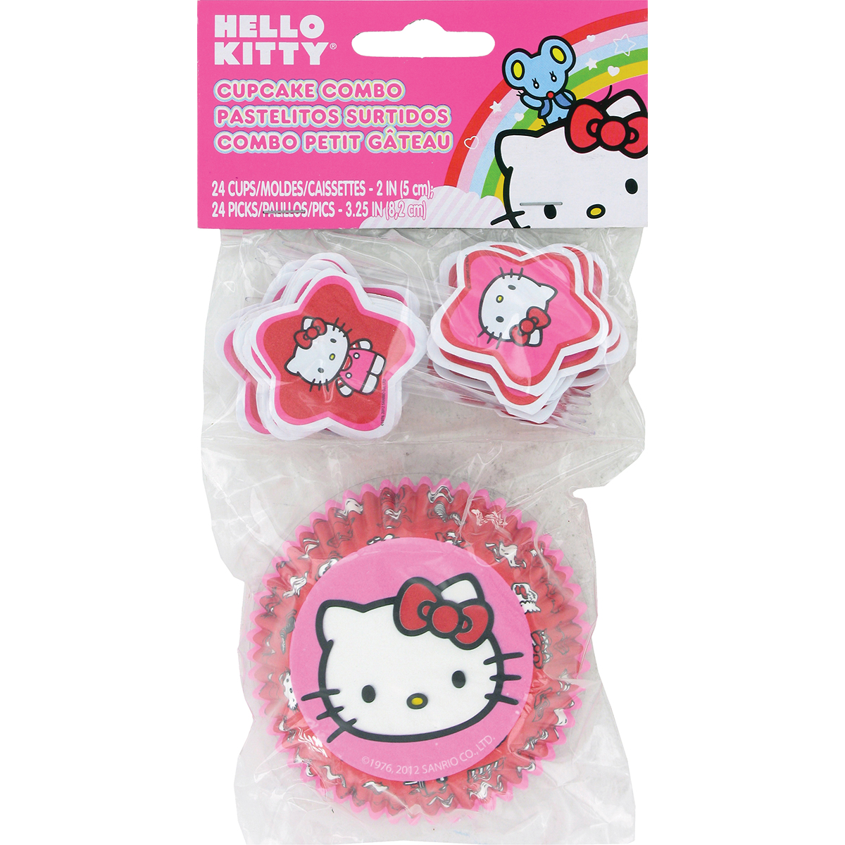 Cupcake Combo Pack-Hello Kitty 24/Pkg