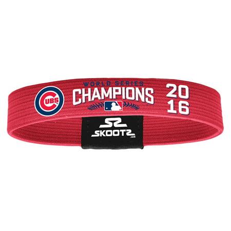 Chicago Cubs Skootz 2016 World Series Champions Bracelet - (World Series Of Poker Bracelet For Sale)