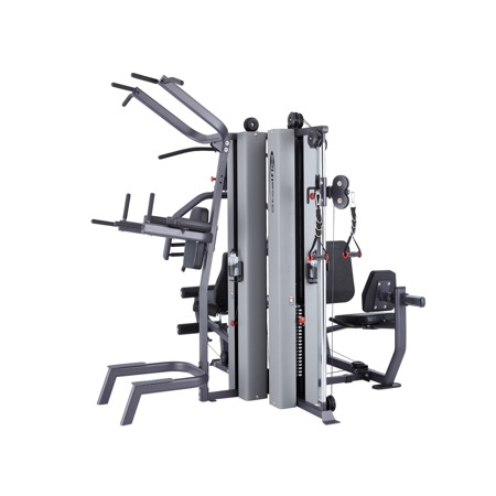 MG300B Multi Station Gym Pulley Weight Machine - 630 lb. Stack (Commercial Grade Quality) by SteelFlex