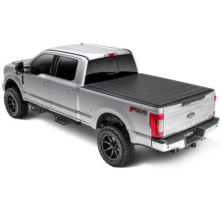 Truxedo 1586901 Tonneau Cover Sentry Hard Roll-Up; Non Lockable; Black; Leather-Grain Vinyl - image 2 of 2