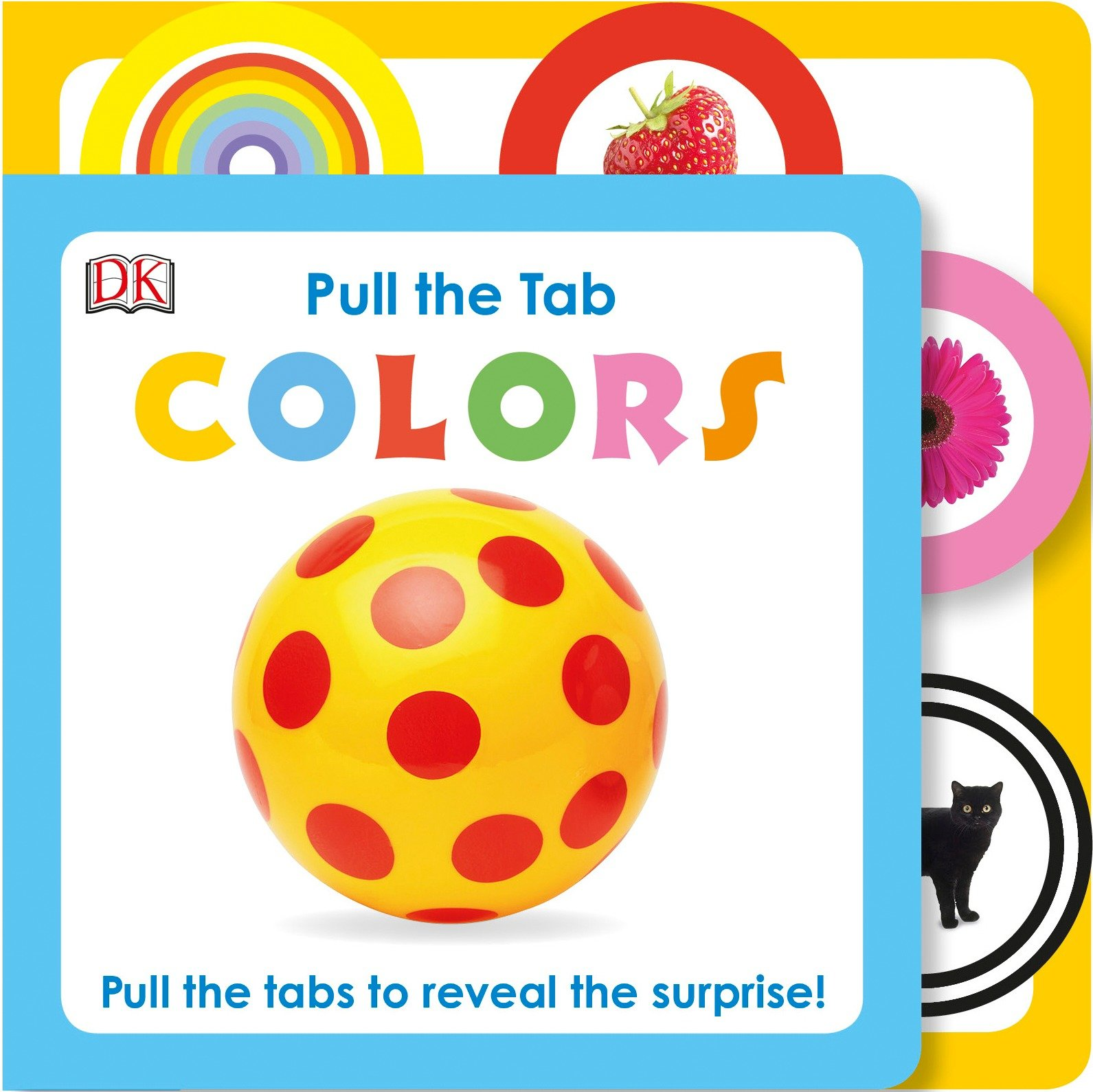 Pull the Tab Colors (Board Book)