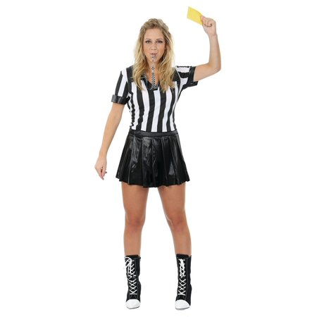 Female Referee Adult Costume (Inflatable Referee)