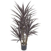 Autograph Foliages AUV-102110 53 in. Plastic Yucca Tree