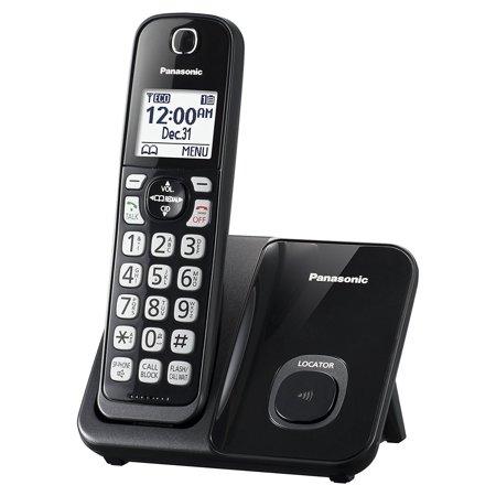 Handset Cordless Phone, Black Expandable Panasonic Cordless Handset, Call (Best Telephone Call Blocks)
