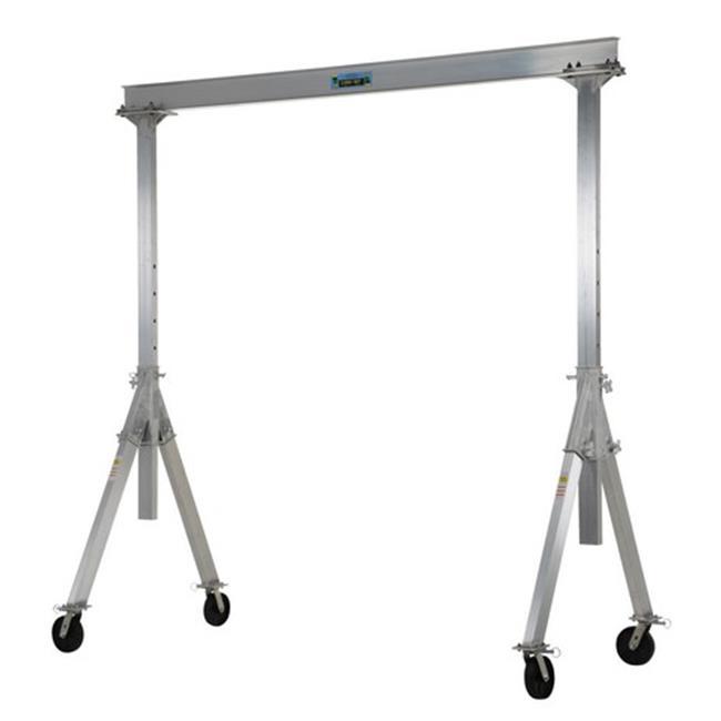 Vestil AHA-4-12-12 Adjustable Aluminum Gantry Crane, 12 x 12 ft.- 4000 lbs by Vestil