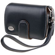 Olympus Slim Leather Digital Camera Case, Black