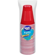 Great Value Party 9 Oz Plastic Cups, 40 Ct
