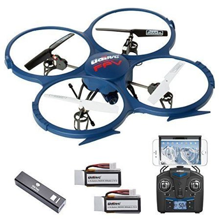 UDI U818A WiFi FPV Drone with Live Camera Feed - RC Quadcopter Drone with