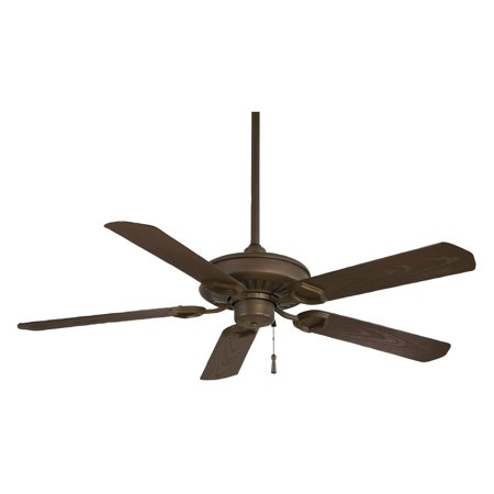 Sundowner Outdoor Fan - Minka Aire F589-ORB Sundowner 54 in. Indoor / Outdoor Ceiling Fan - Oil Rubbed Bronze - ENERGY STAR