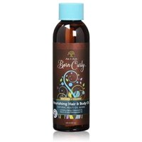 As I Am, Born Curly Nourishing Hair & Body Oil 4 oz