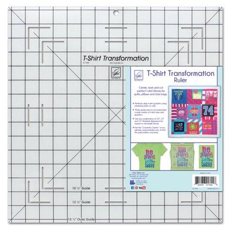 June Tailor T-Shirt Transformation Ruler, 15-1/2