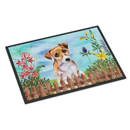 Carolines Treasures CK1275MAT Jack Russell Terrier No.2 Spring Indoor or Outdoor Mat - 18 x 27 in. - image 1 de 1