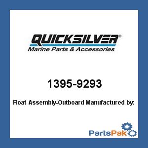 Mercury - Mercruiser 1395-9293 Mercury Quicksilver 1395-9293 Float Assembly-Outboard-