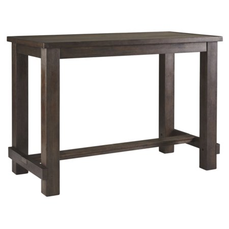 Signature Design by Ashley Drewing Rectangular Bar Height Dining Table ()