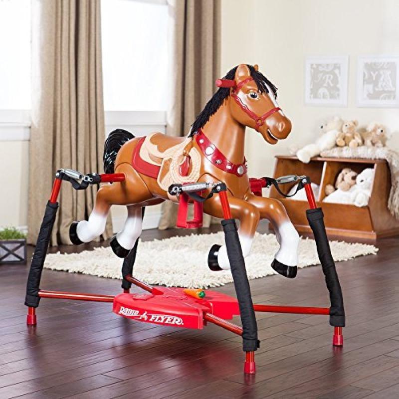 Radio Flyer Blaze Interactive Riding Horse by