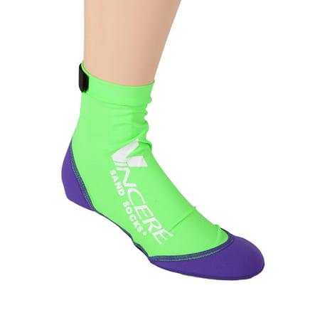Vincere Sand Socks for Snorkeling, Beach Soccer, Sand
