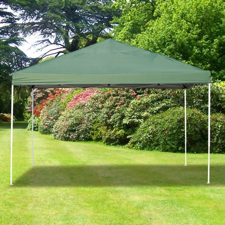 13x13ft Easy up Tent Outdoor Sun Shelter with Carrying Bag Green - image 1 de 7