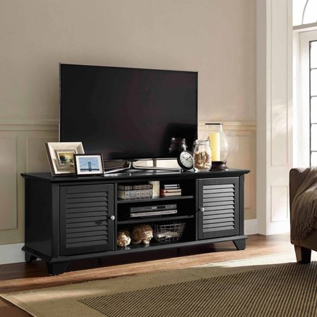 Palmetto Low-Profile TV Stand for TVs up to 60″, Multiple Colors