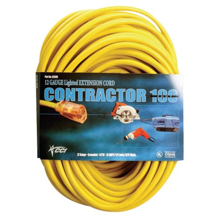 3x7.5x14 Coleman Cable Extension Cord