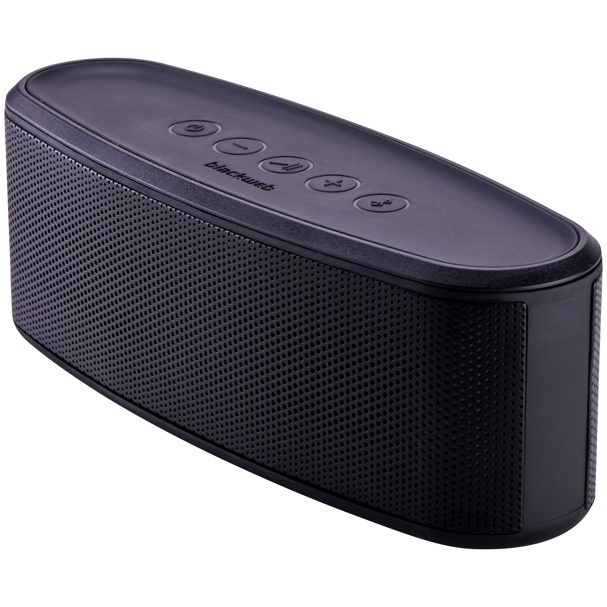 Blackweb Premium Bluetooth Dual Passive Subwoofers Portable Speaker