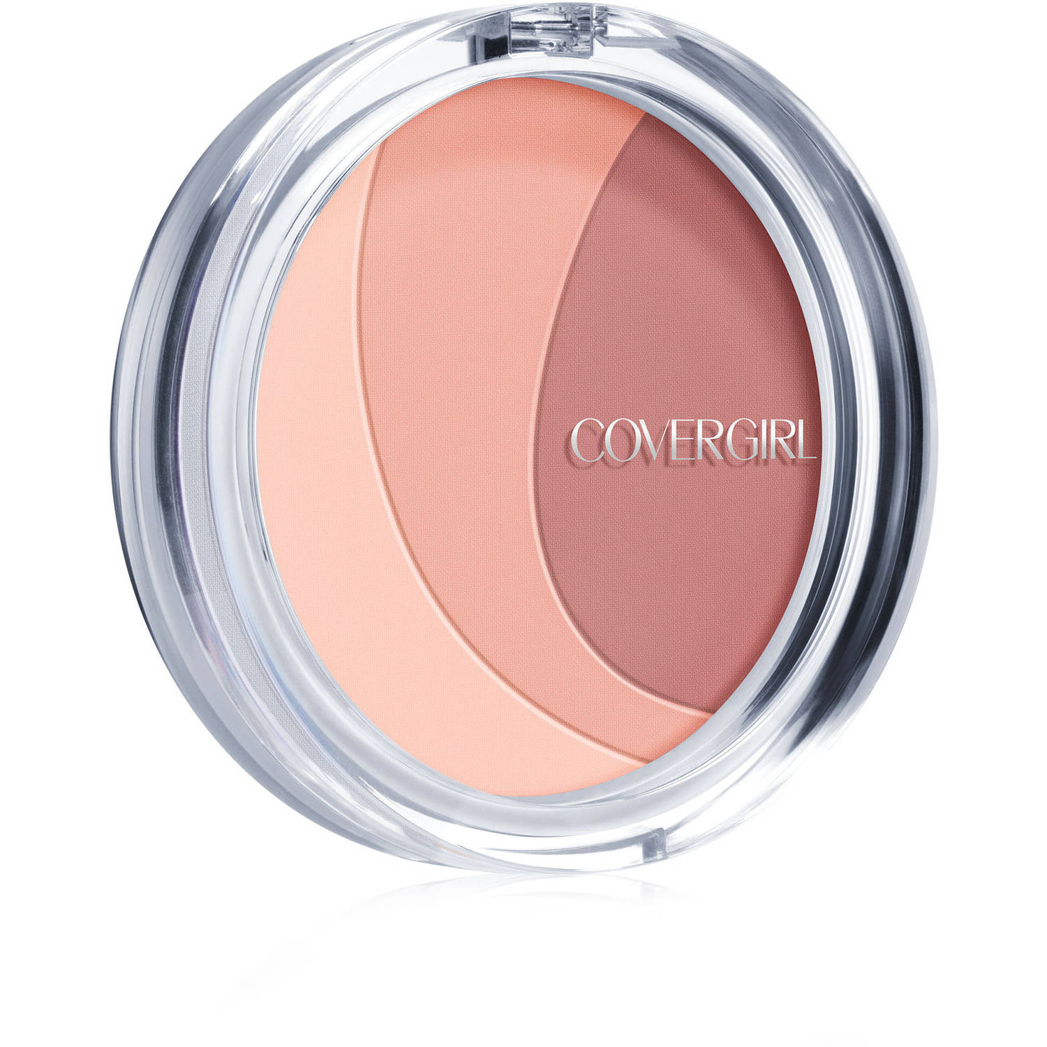 COVERGIRL Clean Glow Lightweight Powder Blush, Roses 100, .42 oz