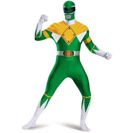 GREEN RANGER BODYSUIT COSTUME - Power Rangers Samurai Green Ranger Costume