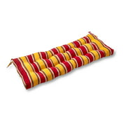 Carnival Stripe 44 x 17 in. Outdoor Swing/Bench Cushion