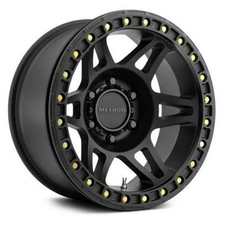 Method Race Wheels MRWMR10679050544B 17 x 9 in. Beadlock Matte Black Wheel - image 1 de 1