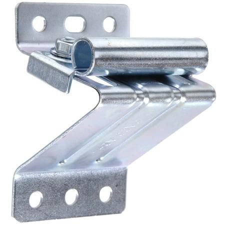 Adjustable Keel Roller Bracket - The Hillman Group 852131 2-1/2-Inch Top Roller Bracket Adjustable, Galvanized