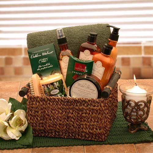 Spa Indulgences Gift Basket