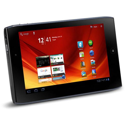"Acer Refurbished Iconia Tab A100-07U08W with WiFi 7"" , Steel Blue"