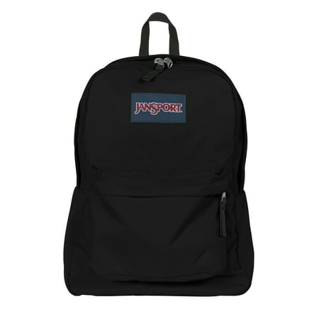 Jansport JS00T501008 : SuperBreak Backpack Black - Walmart.com