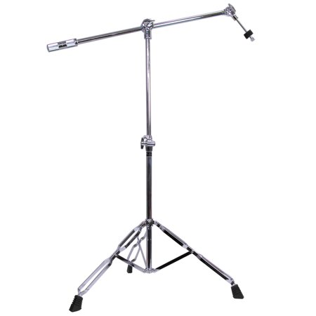 GP Percussion CBS208 Professional Series Boom Arm Combo Cymbal Stand ()