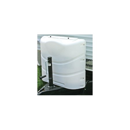 Camco Propane Tank Cover, PolarWhite, Fits 20&30# Steel Double Tank