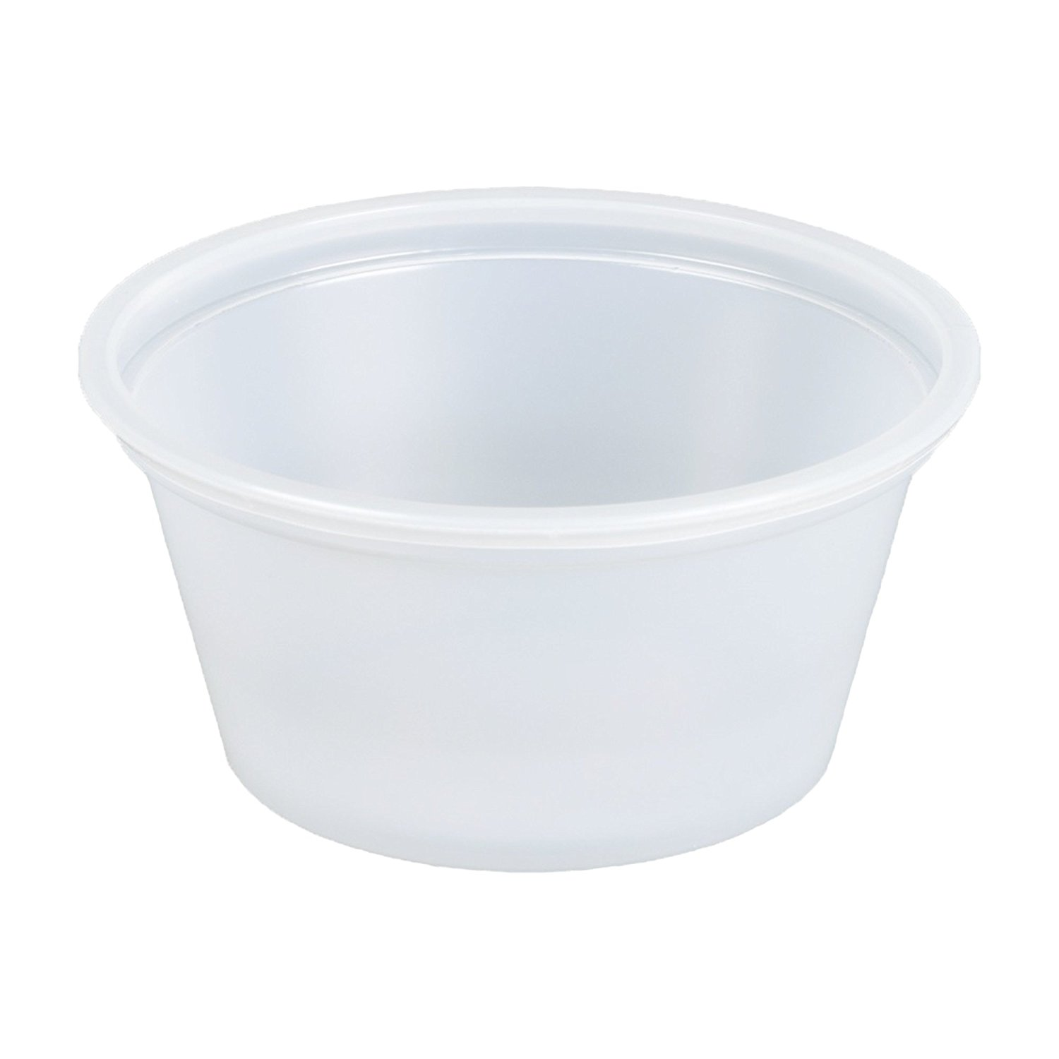 safepro 4 oz portion cups with lids, 150 cups with lids (souffle