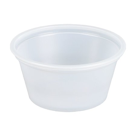 SafePro 4 oz Portion Cups with Lids, 150 cups with LIDS (Souffle Cups/Jello Shot Cups) - Souffle Cups