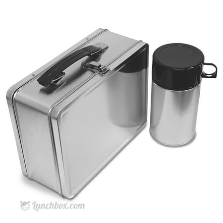 Plain Metal Lunch Box and Insulated - Metal Lunchbox