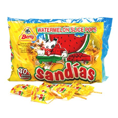 Chili Pops X-treme Sandia (Beer Pops Mexican Candy)