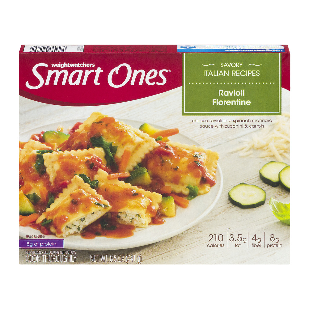 Weight Watchers Smart Ones Ravioli Florentine, 8.5 OZ