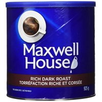 Maxwell House Rich Dark Roast Ground Coffee 925g/32.6oz. (Imported from Canada)