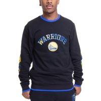 Golden State Warriors Two Hype Original Team Kente Elbow Patch Pullover Sweatshirt - Black