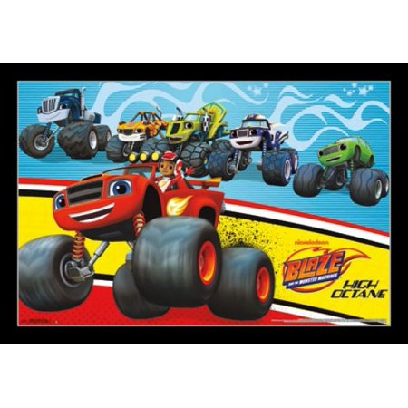 Nickelodeon Blaze and the Monster Machines Poster Print - Monster High Posters