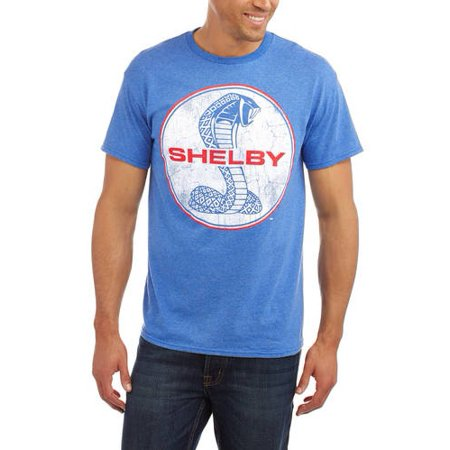 0f4092fc Automotive - Shelby Cobra Big Men's Logo Graphic Tee - Walmart.com